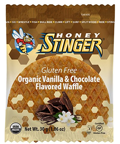 Honey Stinger Gluten Free Waffles Gf Vanilla/Choclate, One Size