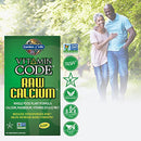 Image of Garden of Life Raw Calcium Supplement - Vitamin Code Whole Food Calcium Vitamin for Bone Health, Vegetarian, 120 Capsules