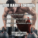 Image of VINTAGE BLAST Pre Workout - First Two-Stage Pre-Workout Supplement - Non-Habit-Forming, Lasting Energy & Endurance Nitric Oxide Booster - Natural Flavors & Sweeteners - Blueberry Lemonade - 306 Grams