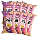Image of Barnana Organic Plantain Chips - Himalayan Pink Salt - 5 Ounce, 8 Pack Plantains - Barnana Salty, Crunchy, Thick Sliced Snack - Best Chip For Your Everyday Life - Cooked in Premium Coconut Oil