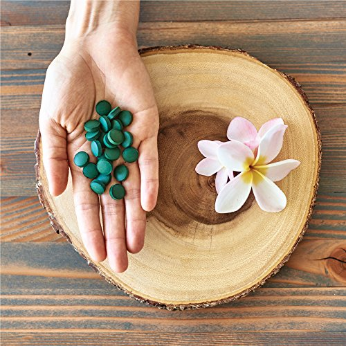 Pure Hawaiian Spirulina-500 mg Tablets 100 Count - Natural Premium Spirulina from Hawaii - Vegan, Non-GMO, Non-Irradiated - Superfood Supplement & Natural Multivitamin