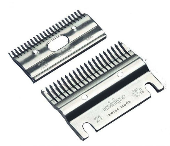 Heiniger 21/23 Teeth Comb/Cutter Set [003100244SET]