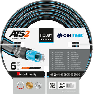 "Cellfast Water Hose 1"" X 25Mtr [02922085725]"