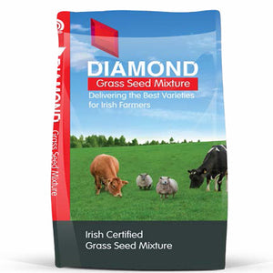 Diamond Heavy Land With Timothy Grass Seed 12kg [075MXGOLD5]