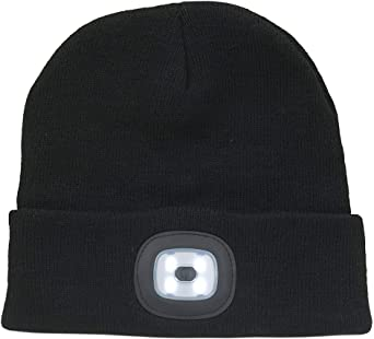 Thinsulate Beanie Hat & Led Light