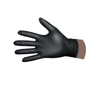 Black Nitrile Gloves Box of 100 [010ctl009]