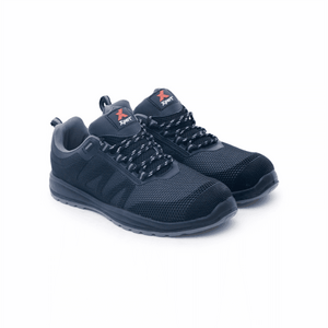 Xpert Bolt+ S1P Safety Trainer Black/Grey [184XP390]