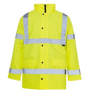 Supertouch Hi-Viz Yellow Parka Jacket Yellow [184ST3544]