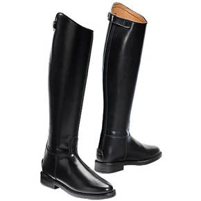 "Equitheme ""Cuir"" Tall leather boot (xl Calf) [0379180110]"