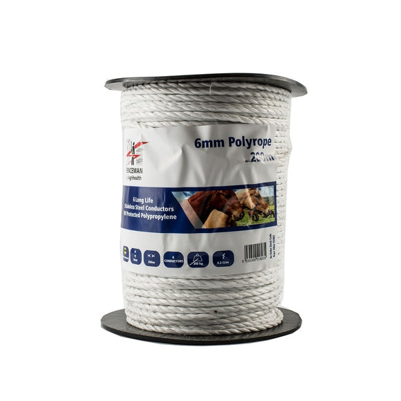 Fenceman Poly Rope 6mm 200M [023151803]