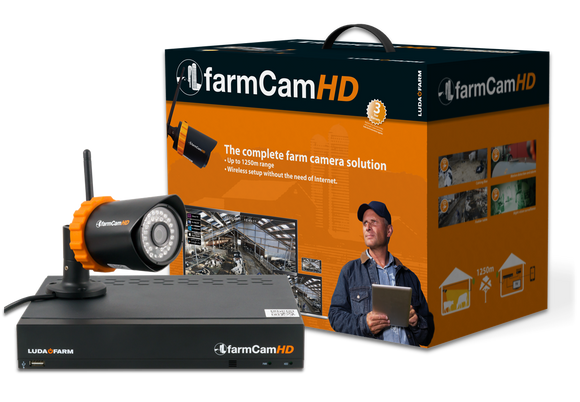 Farmcam HD Starter Pack (1X Camera & Receivers) [060LFFC01][003LUD1073]