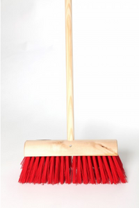 "14"" Handled Nylon Yard Brush  [02913NYYRDBSHH]"