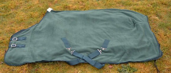 Celtic Equine Fleece Cooler Rug Green [166RGCL]