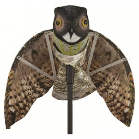 Tomahawk Predator Decoy Owl With Moving Wings [231TH80105]