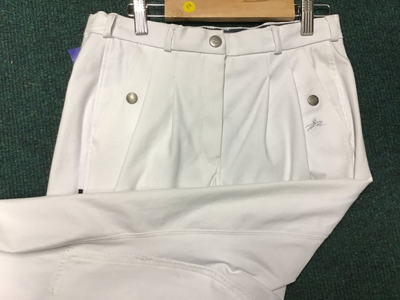 Equitheme Cloth white Breeches[037979970040]