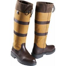 Equitheme Kilkenny Country Boots Brown Size UK4 EU37 [0379180000]