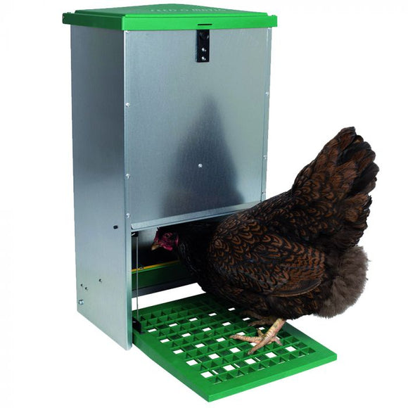 GREEN LINE FEEDER WITH HOPPER ANTI-PESTS 20 KG [003509002120]