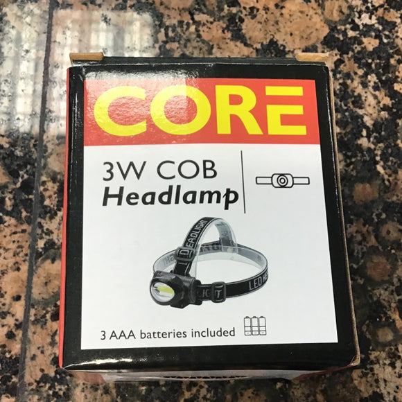 Core 3W Cob Headlamp [144B6352]