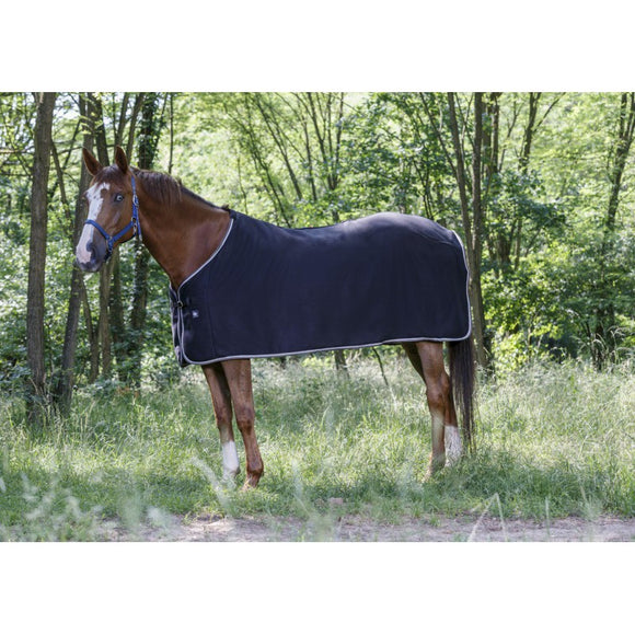 Riding World Fleece Rug Black [037400636259]