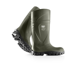 Bekina Steplite X Steel Toe Wellington Boot Green [0231286]