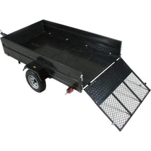Load image into Gallery viewer, 5ft x 8ft Multistar Multi-Purpose Utility Trailer with Ramp 1430-lb load capacity