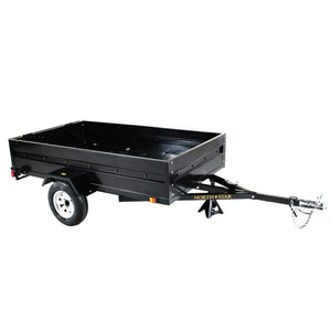 5ft x 8ft Multistar Multi-Purpose Utility Trailer with Ramp 1430-lb load capacity ML