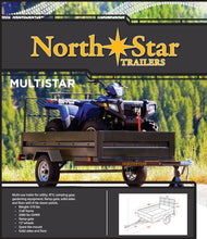 Load image into Gallery viewer, 5ft x 8ft Multistar Multi-Purpose Utility Trailer with Ramp 1430-lb load capacity ML