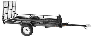 5ft. x 9ft Sportstar II Steel Mesh-floor Utility Trailer with Rear Gate/Ramp 1420-lb. Load Capacity
