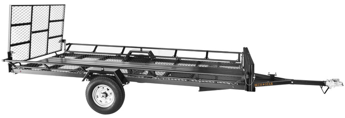 5.5ft x 12.5ft Sportstar III Multi Use Trailer Kit Full Size Ramp 2330-lb load capacity NS3