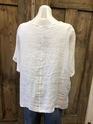 Gauze Cotton & Linen Top