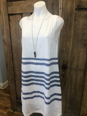 Linen Dress Sleeveless