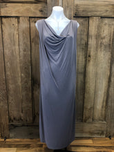 Load image into Gallery viewer, Maxi Dress sleeveless, draped front