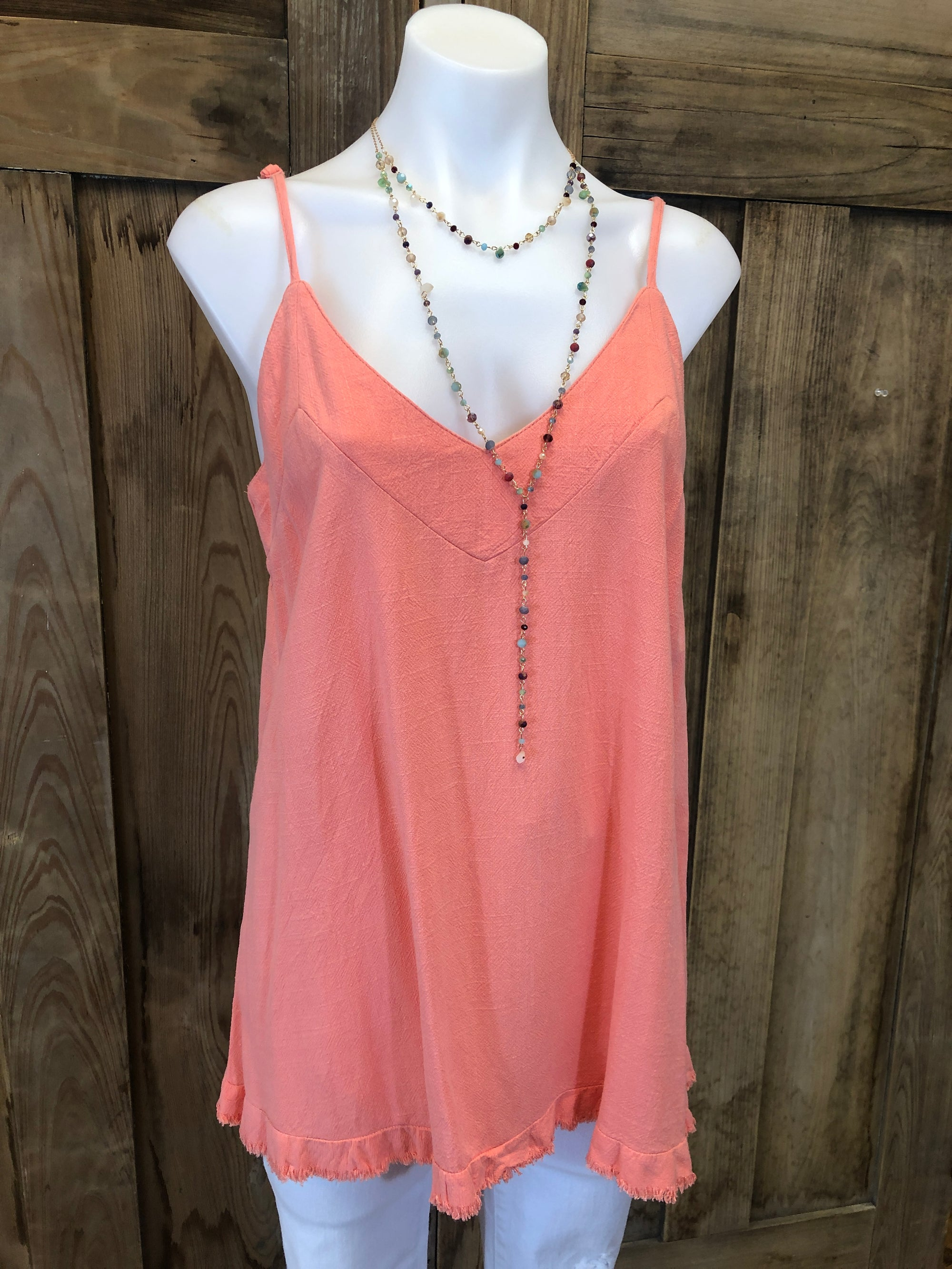 Tank Top Adjustable Straps