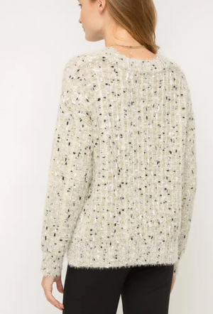 Dotted Pullover
