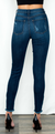 Dark Wash High Rise Skinny Jeans