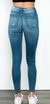 5-Button High Rise Skinny Jean