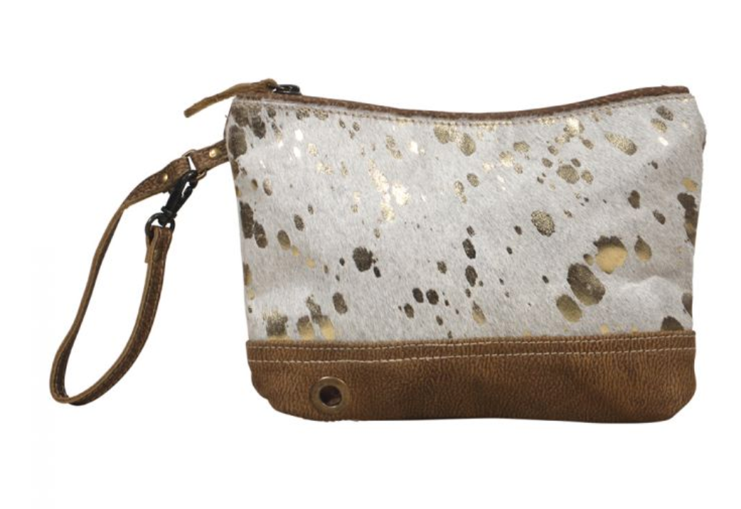 Myra Suave Leather Pouch