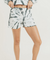 Terry Cotton Tie-Dye Lounge Short Shorts