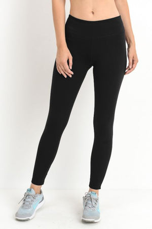 Criss-Cross Cut Out Full Leggings