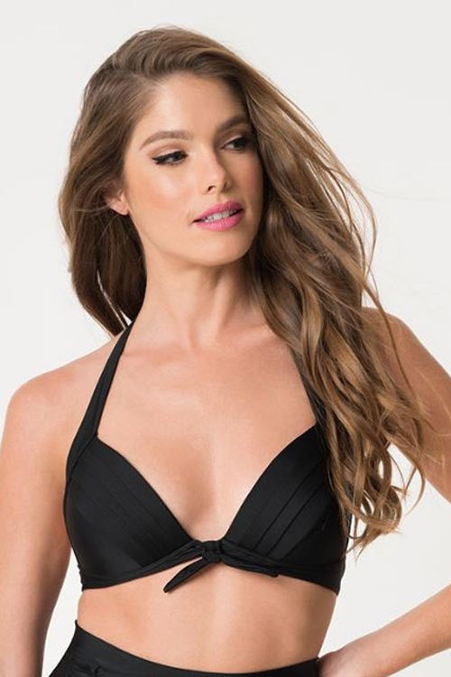 Monroe Halter Swim Top