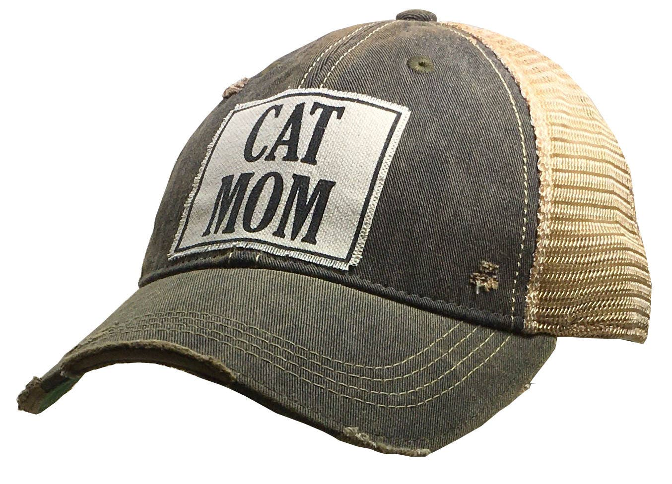 Cat Mom Trucker Hat Baseball Cap