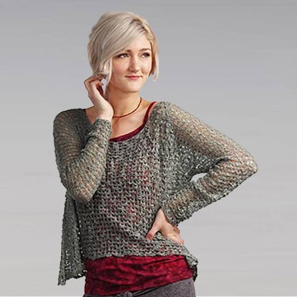 Crocheted Long Sleeve Soul Warmer