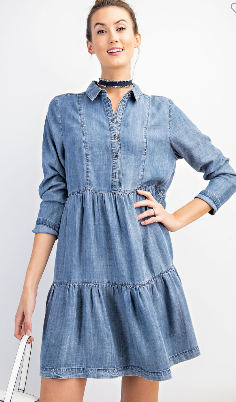 I Dream of Denim Dress