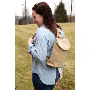 Bag Alyssa Distressed Backpack