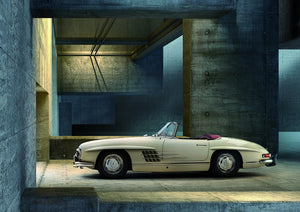 The Mercedes-Benz 300 SL