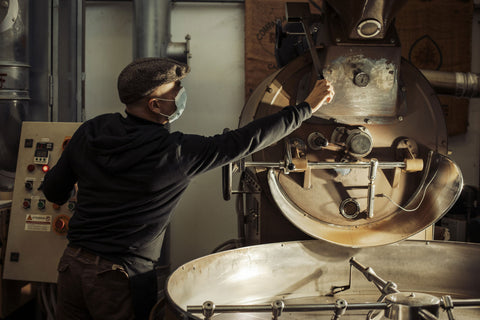 Specialty coffee roasting service