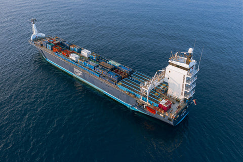 Container ship - greentide trading