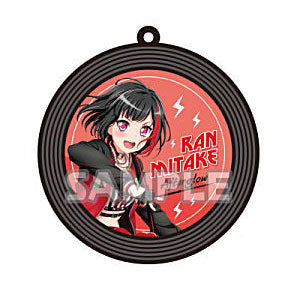 Bang Dream - Record Rubber Keychain - Ran