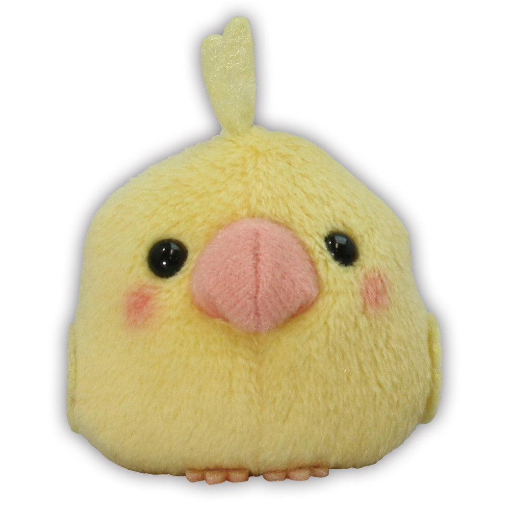 Lutino Cockatiel Bird Mini Plush