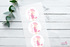 Thank You About to Pop Baby Shower Stickers